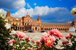66166769 - seville sevilla plaza de espana in andalusia spain square